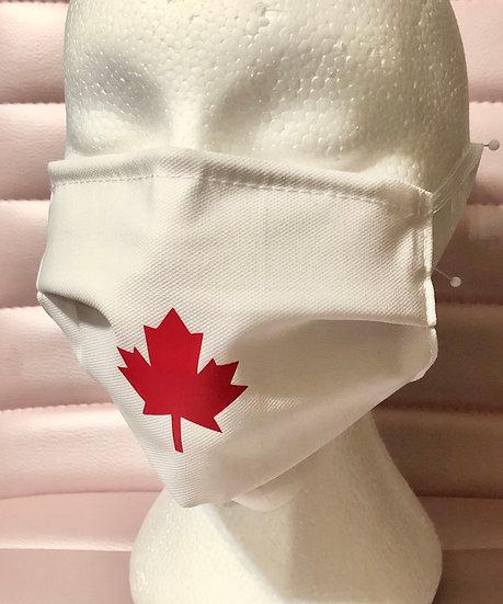 Canada Maple Leaf Mask