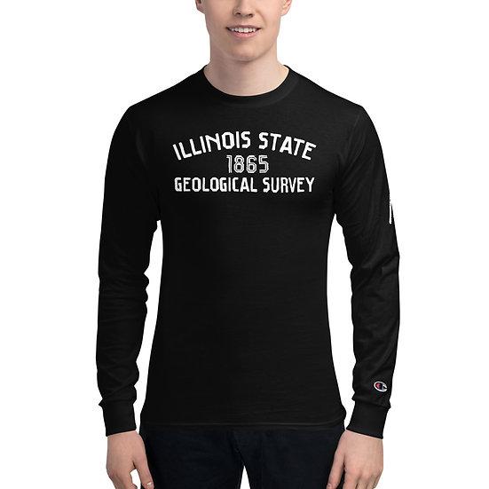 Edward Cope Illinois State Geological Survey 1865 Long Sleeve Shirt w/Skull