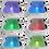 Thumbnail: Lissabon 2 2150 x 1900 x 800 mm für 6 Personen