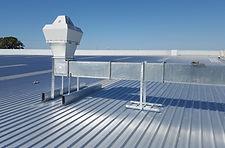 Lüftungsanlage über Dach