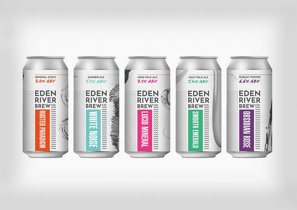 beercan brew ale can label design graphic
