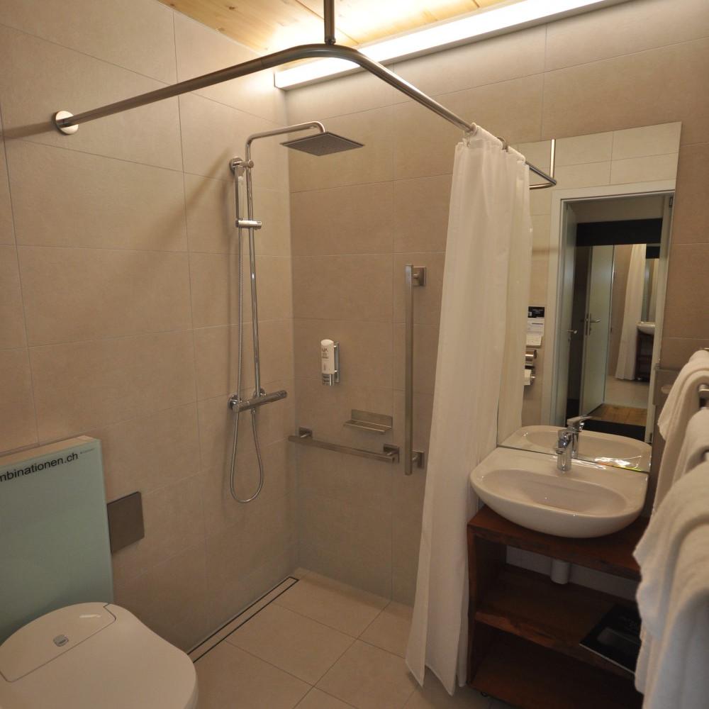 BS16 Hotel Bern Zimmer 20 - Dubai bei Nacht - BS16
