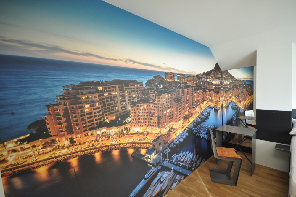 BS16 Hotel Bern Zimmer 17 - Monaco am Hafen   Rolltreppe - BS16