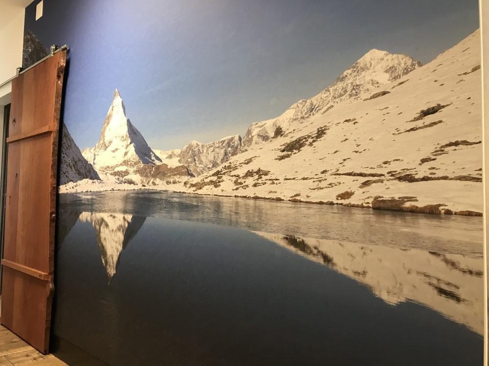 BS16 Hotel Bern Zimmer 1 - Unter der Brücke und Matterhorn - BS16
