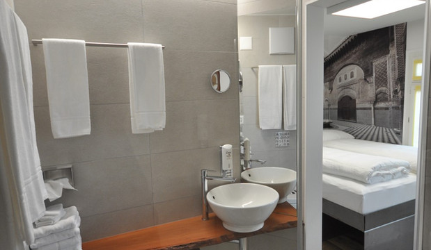 BS16 Hotel Bern Zimmer 15 - Orientalischer Hinterhof - BS16
