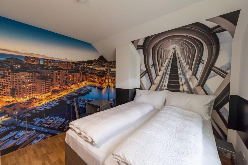 BS16 Hotel Bern Zimmer 17 - Monaco am Hafen | Rolltreppe - BS16