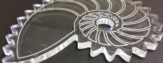 Gear Created with Acrylics