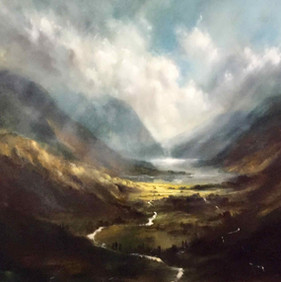 Buttermere from my first Solo Show