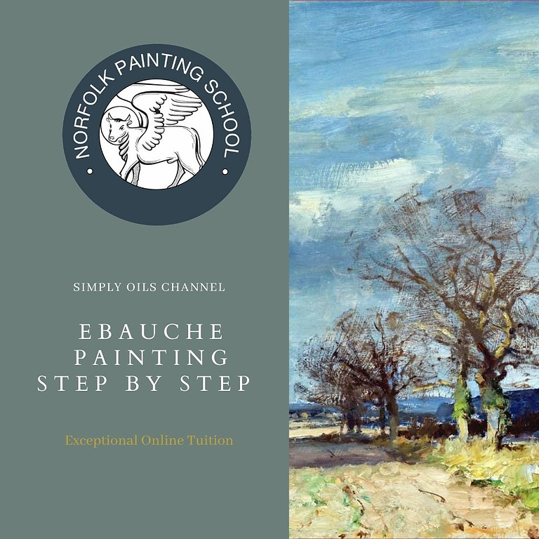 Simply Oils - Ebauche Painting