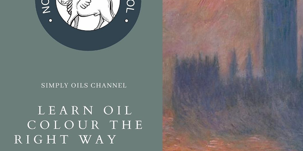 Simply Oils Channel: Professional Colour Mixing in Oil - 1st Dec