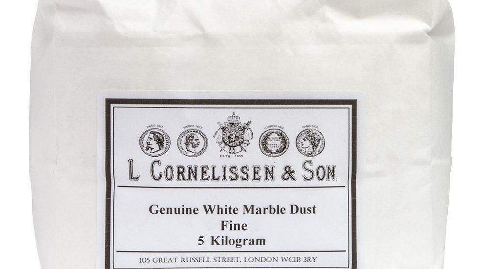 Fine White Marble Dust