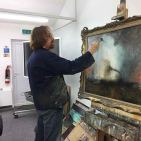 Publicity shot for the NEC Birminghamn Art Materials Live