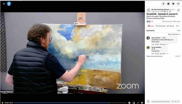 Norfolk Painting School  Studiotalk Onli