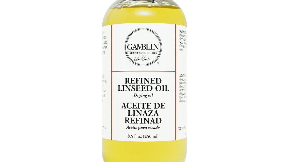 Refined Linseed Oil (237ml)