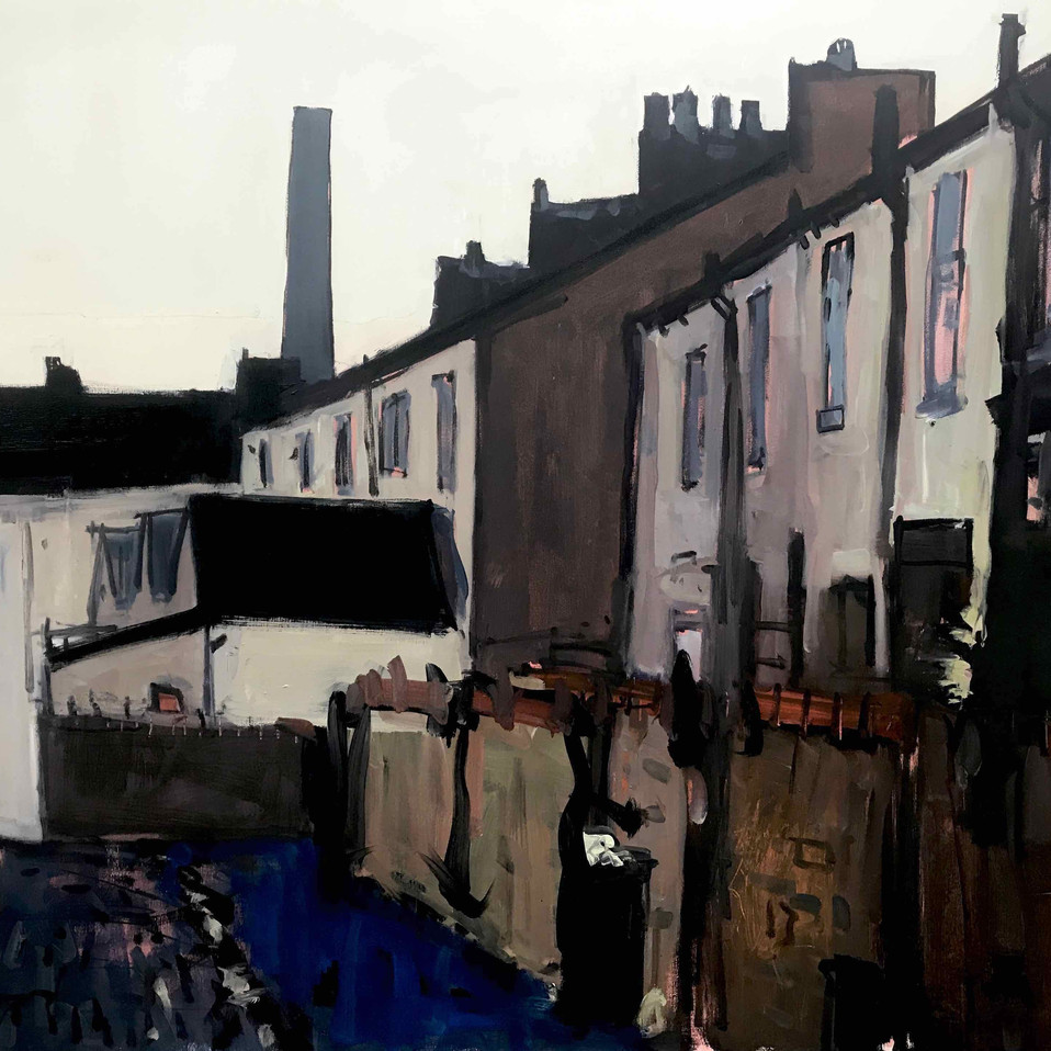 Backstreet, Burnley. Govt. Art Collection
