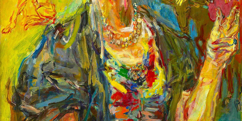 Kokoschka Expressionist Portraits