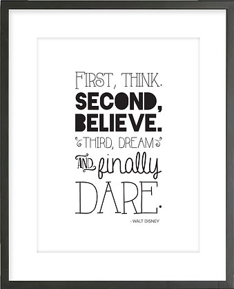 Walt Disney 'Dare'