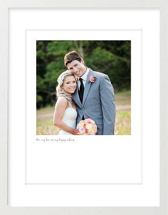 Personalised Print - Wedding
