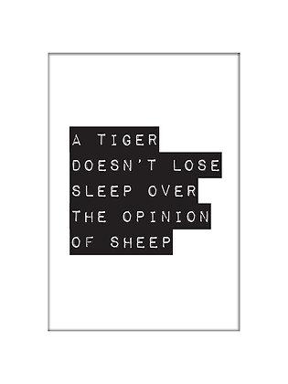 Unframed: Tiger
