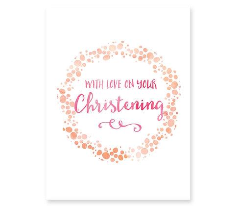 Christening (peach)