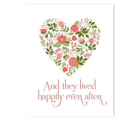 Happily Ever After: Set of 3