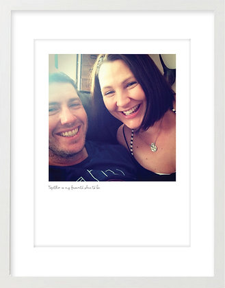 Personalised Print - Couple