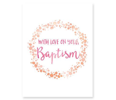 Baptism (peach)