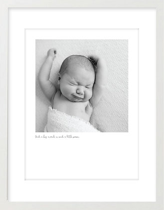 Personalised Print - Baby