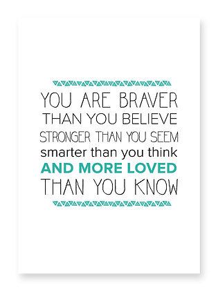 Braver (turquoise)