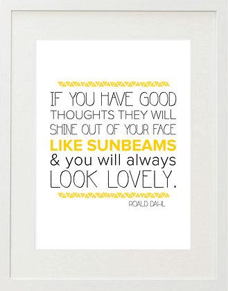 Roald Dahl Quote