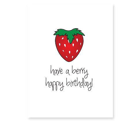 Berry Happy Birthday: Set of 3