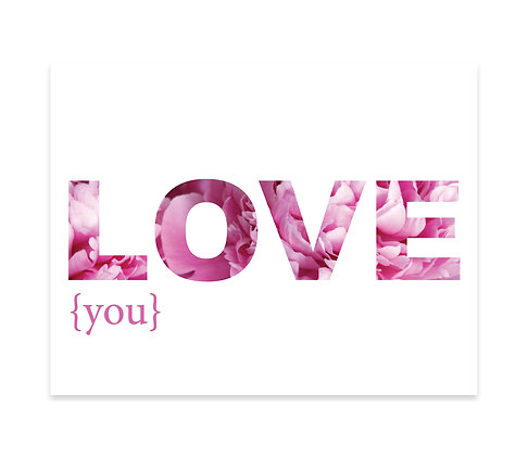 Love You: Set of 3