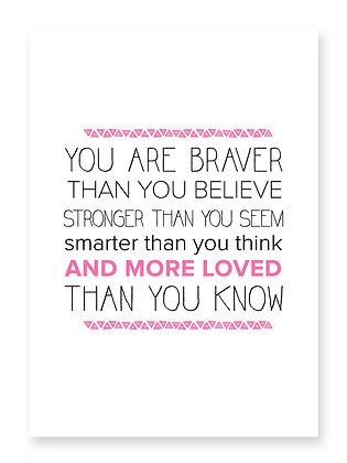 Braver (pink)