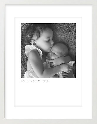 Personalised Print - Little One/s