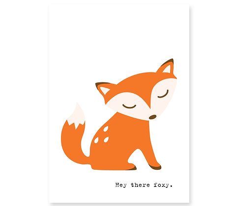 Hey There Foxy: Set of 3