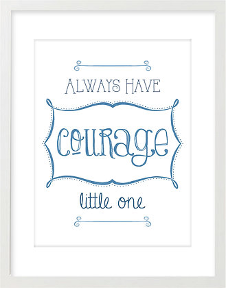 Courage (Blue)