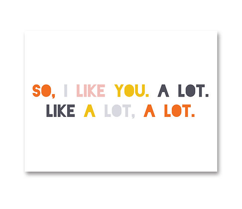 I Like You: Set of 3