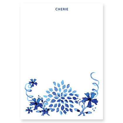 Watercolour Floral (Blue)