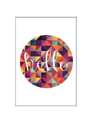 Unframed: Hello