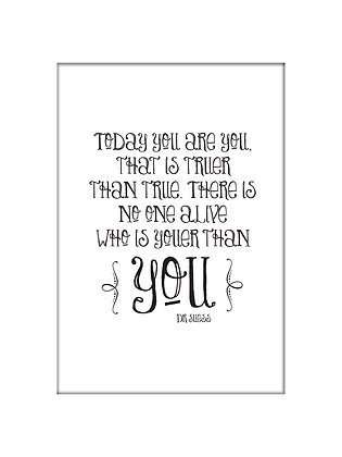 Unframed: Dr Suess - You