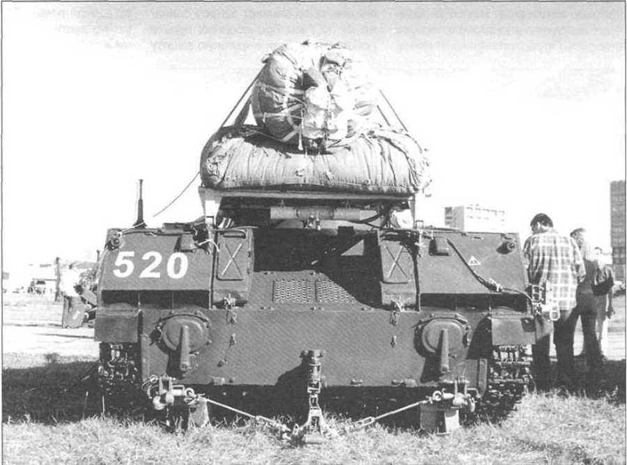 БМД-2 с уложенной парашютно-реактивной системой ПРСМ-916. 90 лет ВДВ