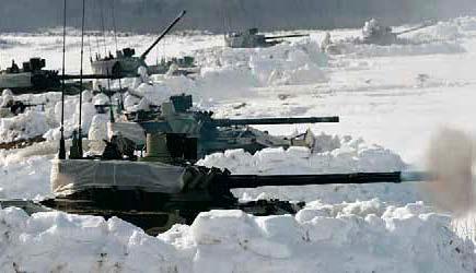 БМД-4 в обороне