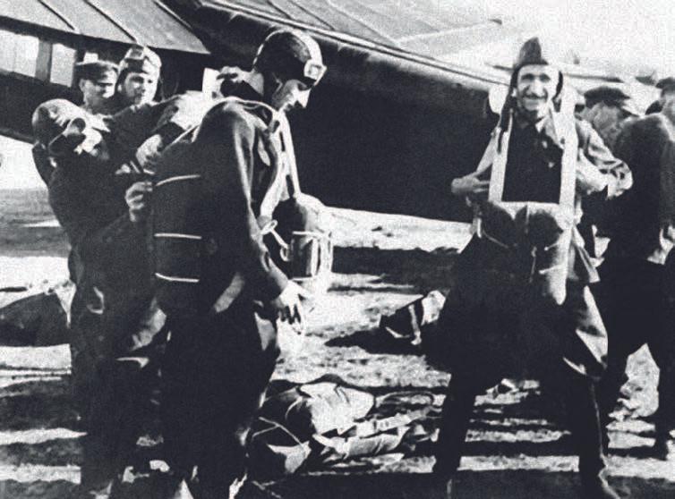 Подготовка к десантированию. 2 августа 1930 года. 90 лет ВДВ