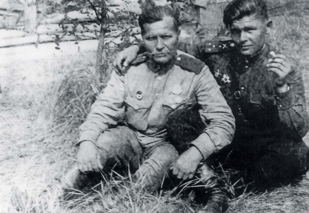 Калинин П.Г. Встреча с отцом