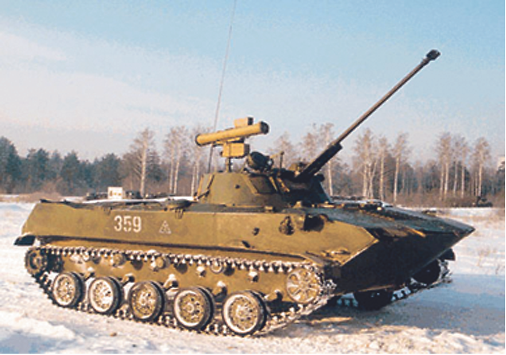 Боевая машина десанта БМД-2. 90 лет ВДВ