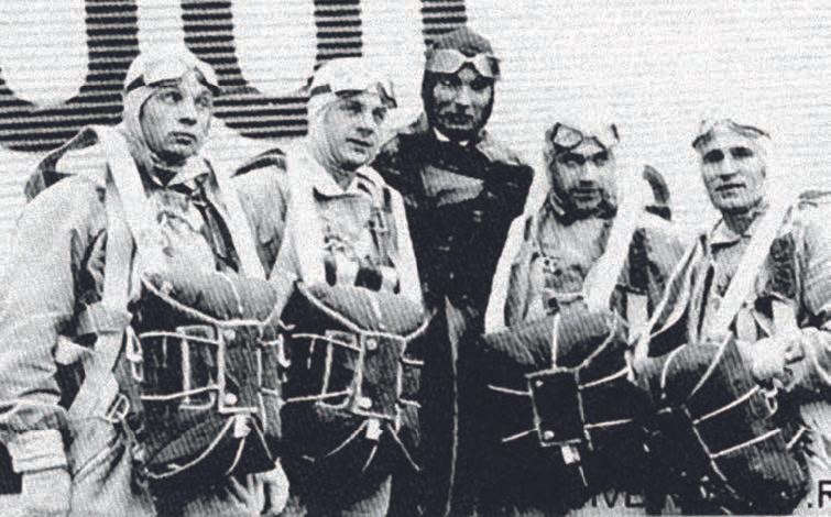 26 июля 1930 года. Воронеж. В центре – Минов. 90 лет ВДВ