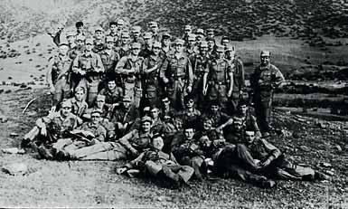 4 курс 13 роты на горно-полевом выходе в Кировабаде 1987 год