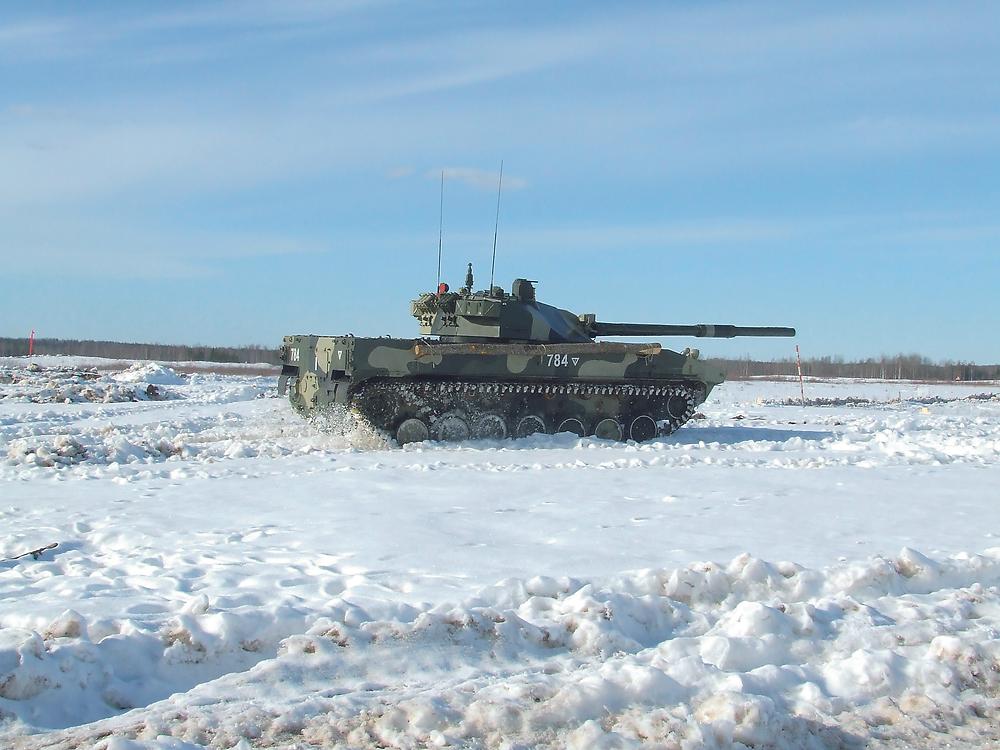 Самоходная противотанковая пушка 2С25 «Спрут»