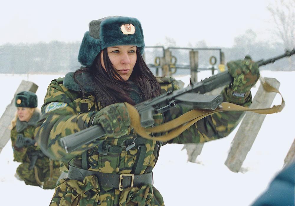 Старший прапорщик ВДВ Ирина Савицкая