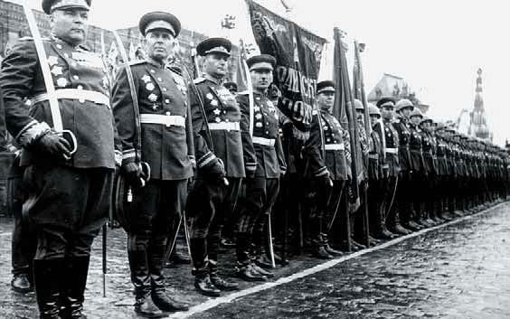 Парад победителей. 1945 год